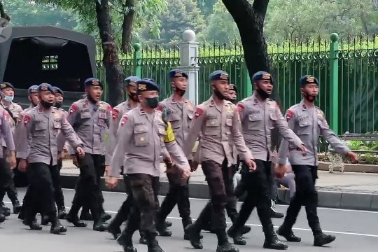 Ribuan personel dikerahkan, Polda Metro Jaya jamin keamanan Jakarta