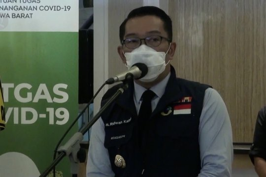 Ridwan Kamil sebut penyebaran COVID-19 di Jabar mulai terkendali