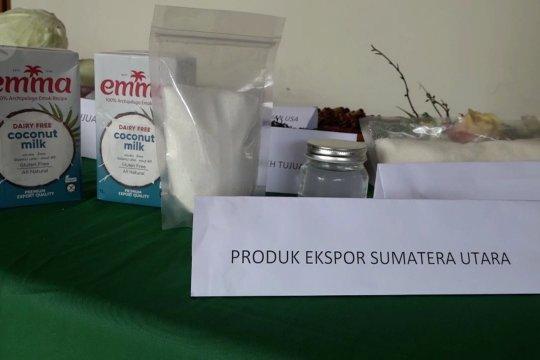 Badan karantina pertanianlepas ekspor santan kelapa perdana di Sumut