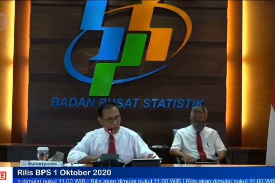 BPS catat deflasi 0,05% pada September