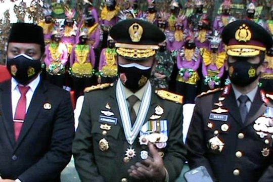 Pangdam: TNI-Polri tetap komitmen kawal penanganan COVID-19