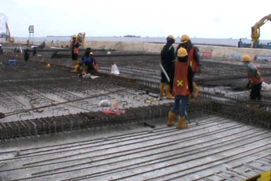 Pembangunan Makassar New Port capai 54,12 persen