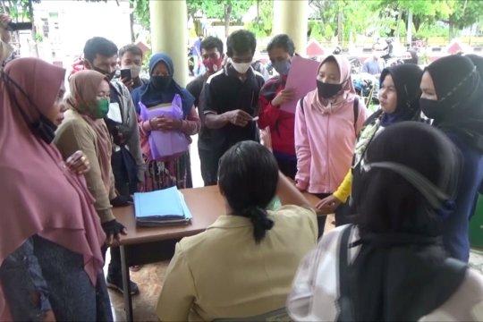 Warga kapuas kembali mendaftar Bantuan UMKM tahap 2