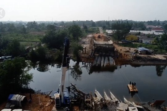 Kejari pastikan kontraktor bertanggung jawab ambruknya Jembatan Jerambah Gantung