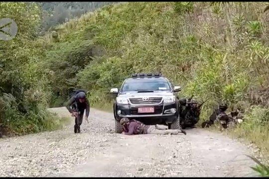 Kontak tembak di Intan Jaya Papua, 2 anggota KKB tewas