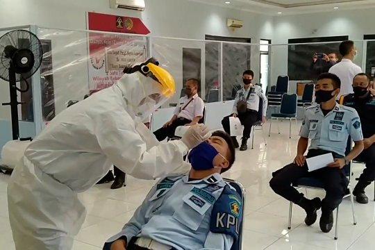 4 napi pindahan positif COVID-19, Lapas Kesambi Cirebon adakan uji usap massal