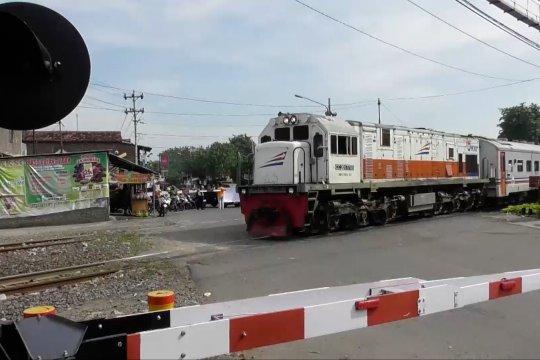 49 kecelakaan terjadi di perlintasan sebidang KA wilayah DAOP Semarang