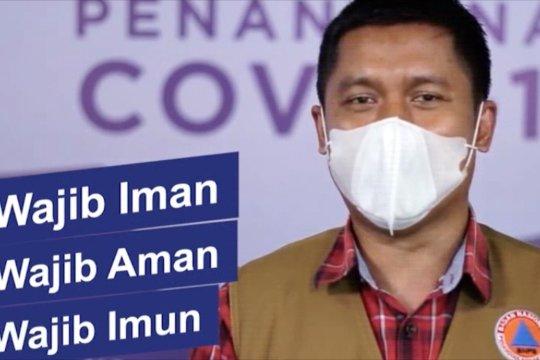 Satgas gencarkan kampanye Aman-Iman-Imun cegah penularan COVID-19