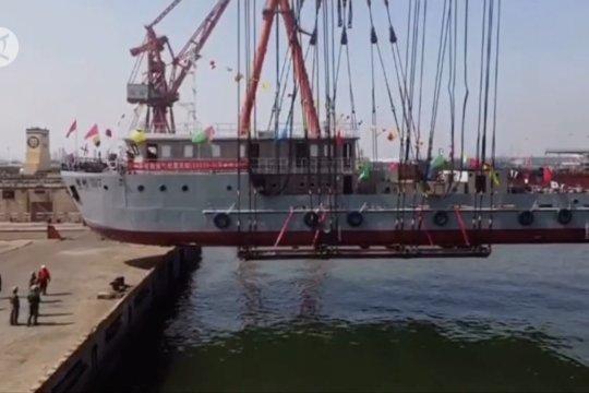 Kapal survei seismik untuk eksplorasi minyak lepas pantai diluncurkan di Tianjin