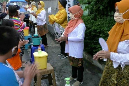 Warga Tunjungsekar Malang peringati Hari Cuci Tangan Sedunia