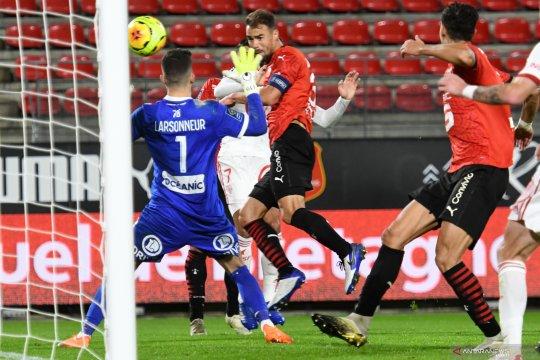 Rennes kembali ke jalur kemenangan usai atasi Brest 2-1