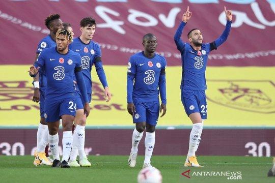 Hakim Ziyech cetak gol lagi, Chelsea kembali ke jalur kemenangan