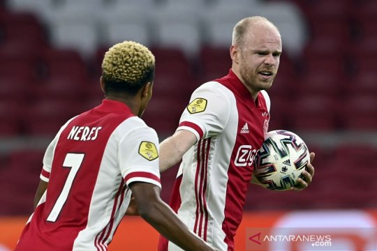 Ajax lanjutkan tren menang besar seusai lumat Fortuna Sittard 5-2
