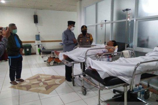 Terlibat bentrokan, 4 anggota ormas dilarikan ke RSUD Sukabumi