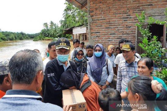 3.988 kepala keluarga terdampak banjir Sungai Batang Kambang
