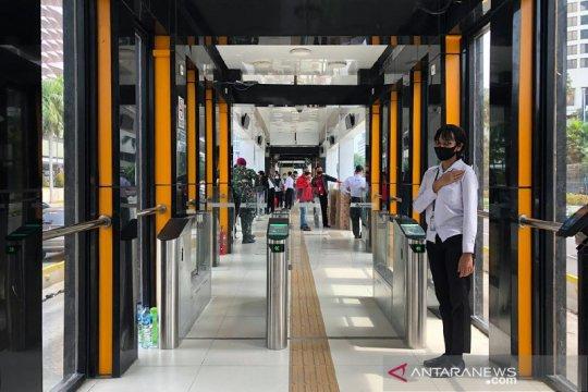 TransJakarta berencana rombak 4 halte dengan desain kekinian