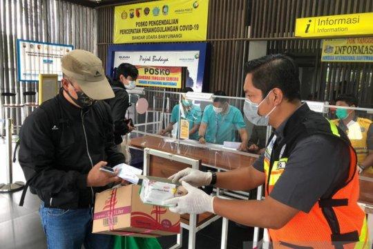 Terjadi lonjakan jumlah penumpang di Bandara Banyuwangi
