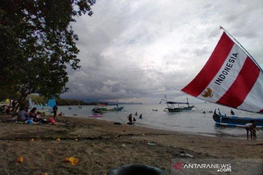 Wisata Bahari Pasir Putih Situbondo mulai ramai pengunjung
