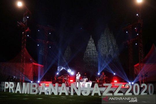Prambanan Jazz Virtual Festival 2020 bukti seniman tetap inovatif