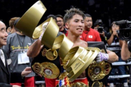 Sukses pertahankan gelar, Inoue siap buru sabuk juara berikutnya