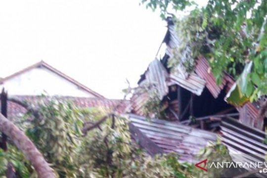 BPBD Bangka catat 35 rumah warga rusak akibat puting beliung