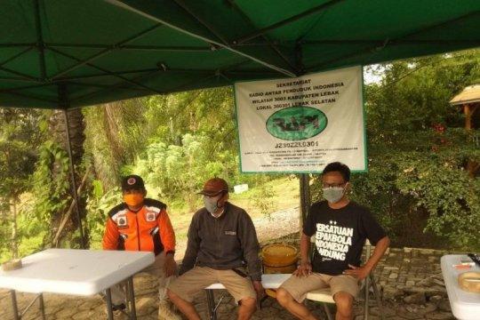 Warga  selatan Lebak bentuk komunitas Gugus Mitigasi Bencana