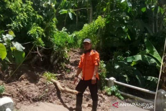 Jalan nasional di wilayah Cianjur selatan sudah dapat dilalui