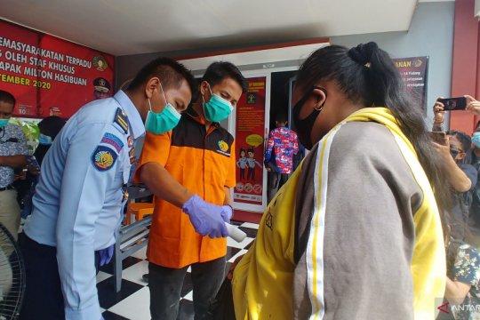 40 Warga binaan dan seorang pegawai Lapas Padang positif COVID-19