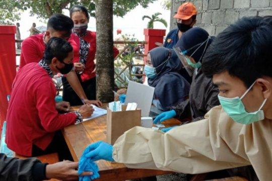 408 orang reaktif dari hasil tes cepat di objek wisata Jabar