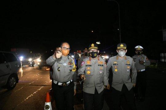 Korlantas Polri: Tidak ada kejadian menonjol selama arus mudik-balik