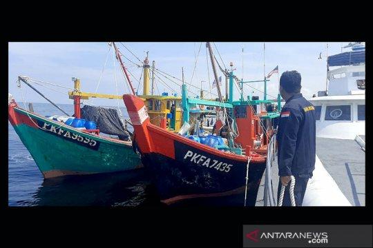 KKP tangkap 2 kapal ikan Malaysia yang mencuri ikan dan berupaya kabur