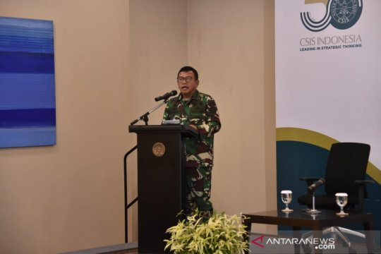 TNI: Pentingnya interoperabilitas kekuatan ketiga matra hadapi ancaman