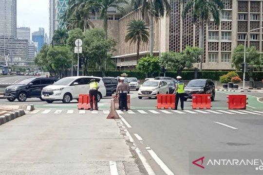 Tiga rute TransJakarta dimodifikasi imbas dua demo di Jakarta Pusat