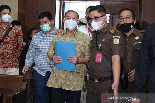 Djoko Tjandra didakwa suap jaksa dan dua pati Polri hingga Rp15 miliar