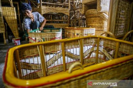 Ekspor mebel dan kerajinan melonjak 35,41 persen di tengah pandemi