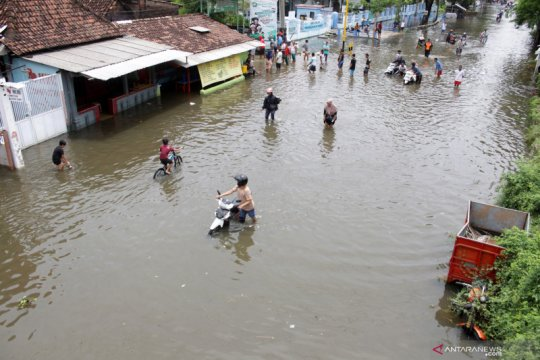 Banjir di Gempol Pasuruan