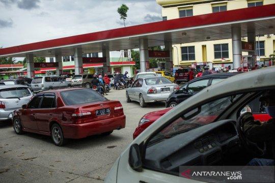 Premium dan Pertalite langka di Batam