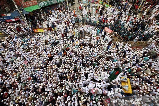 Warga Bangladesh serukan boikot produk Prancis