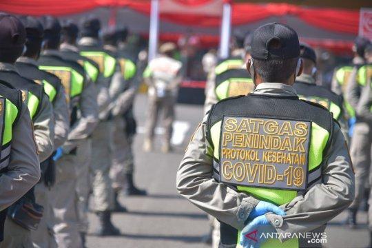 Perda sanksi protokol kesehatan Kabupaten Bekasi terbit bulan ini