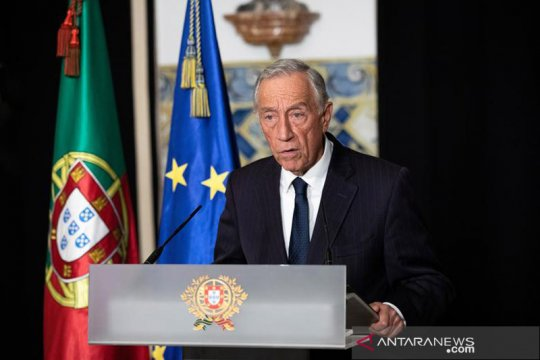 Presiden Portugal Marcelo Rebelo de Sousa negatif COVID-19