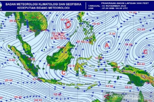 BMKG pantau pertumbuhan bibit siklon tropis di selatan Banten