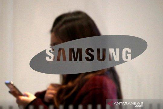 Samsung kembangkan ponsel yang bisa digulung