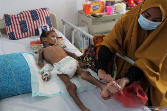 Seorang anak umur sembilan tahun di Konawe menderita kekurangan gizi