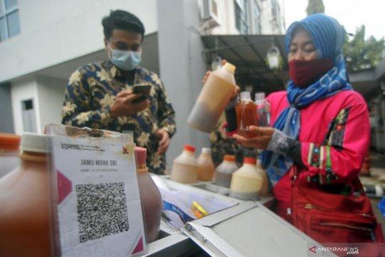 Layanan transaksi digital penjual jamu tradisional