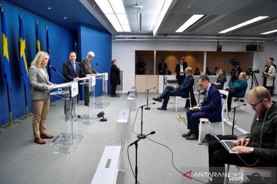 Swedia catat 9.649 kasus baru COVID, 224 kematian sejak Jumat