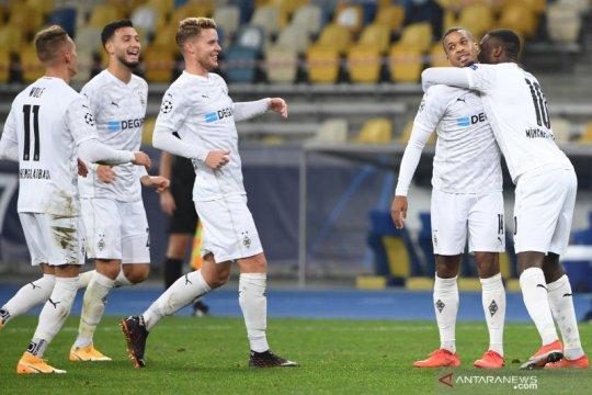 Gladbach pesta setengah lusin gol ke gawang Shakhtar Donetsk