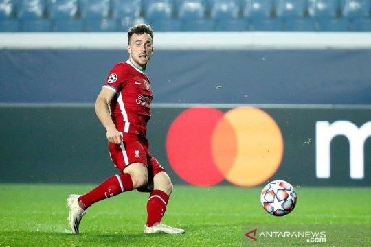 Diogo Jota cetak tiga gol antar Liverpool babat Atalanta 5-0