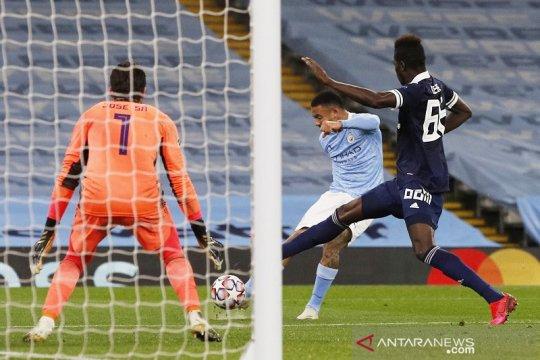 Gabriel Jesus kembali untuk bantu Manchester City bekuk Olympiakos