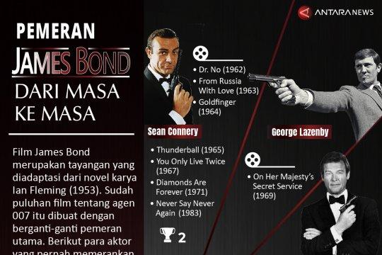 Pemeran James Bond dari masa ke masa