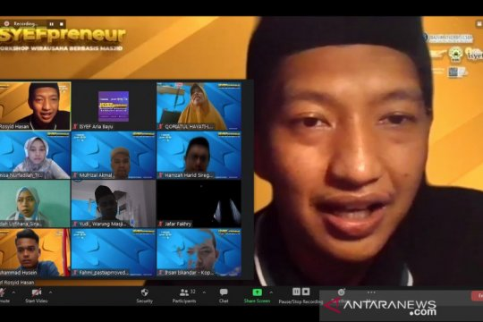Arief Rosyid: Milenial bisa dorong UMKM tumbuh dari masjid